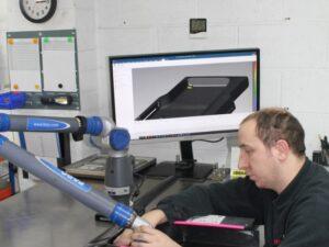 Faro Arm in use
